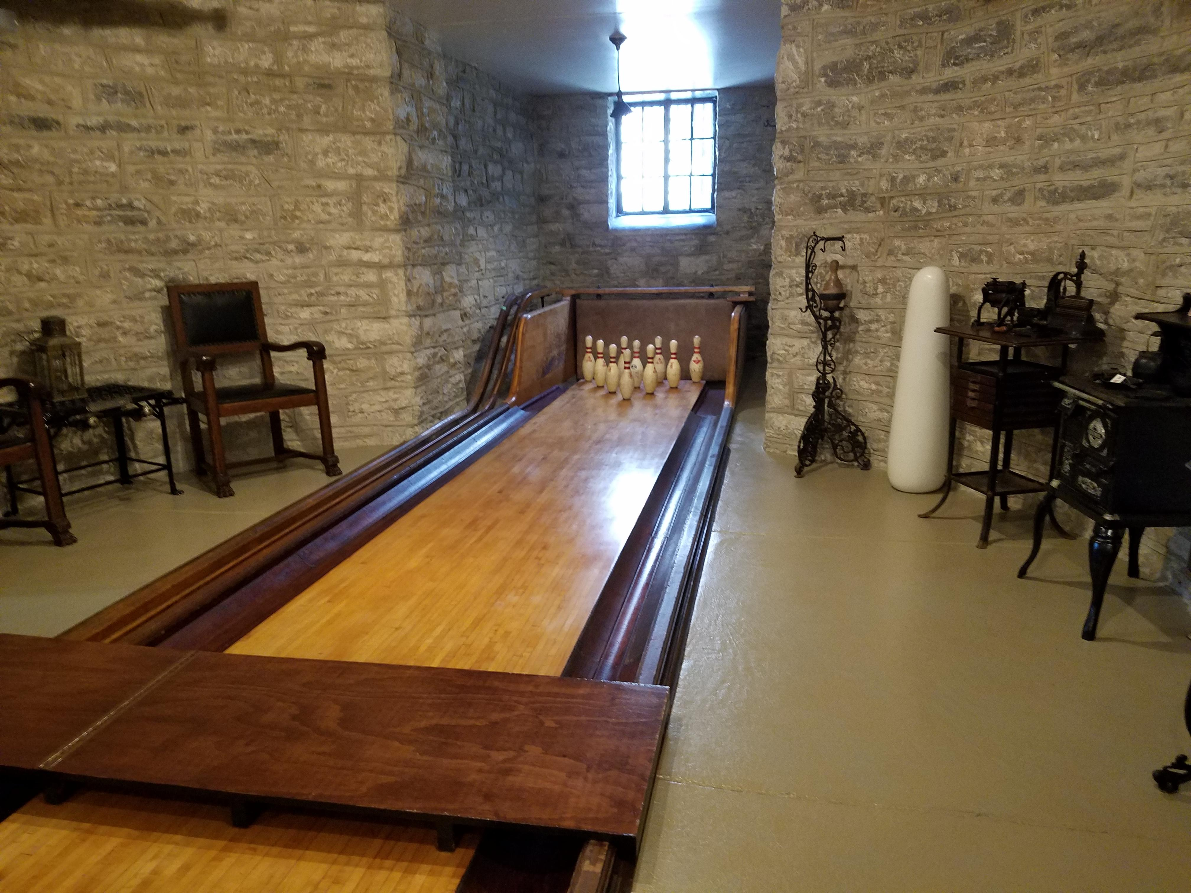 Build A Bowling Lane In Your Basement